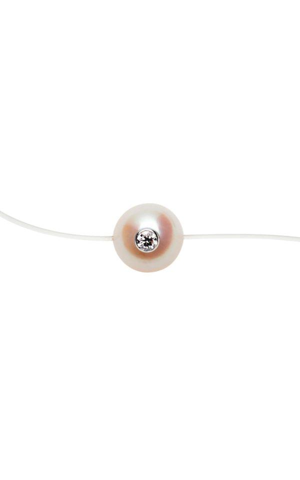 SIMPLY VIP +  Collier perle d'Akoya et diamant